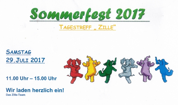 Zille - Sommerfest 2017