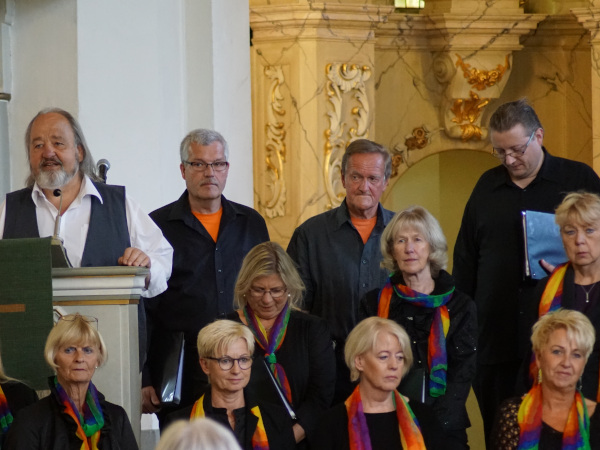 Jubiläumskonzert mit Swinging Voices