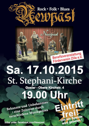Konzert-Plakat New Past